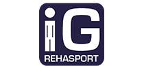 Referenzen Logo- und Webseiten Erstellung für die IG Rehasport