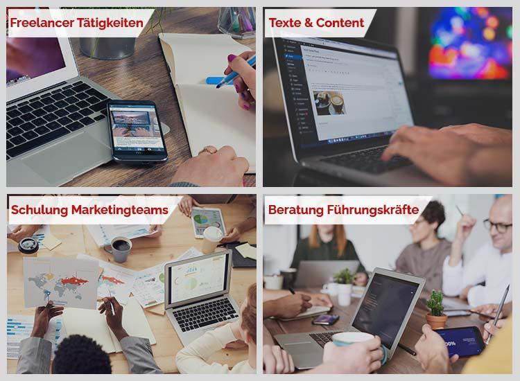 Marketing Angebote Freelancer finden und buchen Lean Adminitration oder Schulung Marketingteams