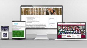 Marketing Angebote Webdesign für Rehasport Anbieter Sportvereine oder Interessensgemeinschaften Beispiele