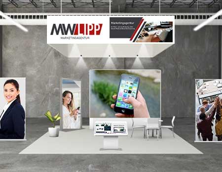 Messedesign und Werbetechnik Angebote Grafikdesign Werbeagentur Marketingwelt Lipp