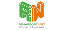 Referenzen: Partner Logo Rehasportwelt - Onlineportal und Rehasport Marketing
