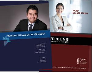 Professionelle Erstellung von Bewerberunterlagen und Coaching Angebote für erfolgreiche Bewerbungen - hier Deckblatt und Bewerberfoto