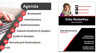 Referenzen Marketingwelt-Lipp - Erstellung von Werbemitteln Geschäftsausstattungen und Printmedien hier Consulting und Unternehmensberatung