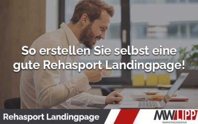 Rehasport Landingpage