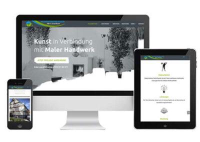 Marketing Agentur Herrenberg Auszüge Erstellung WordPress Webseite Malermeister Kessler