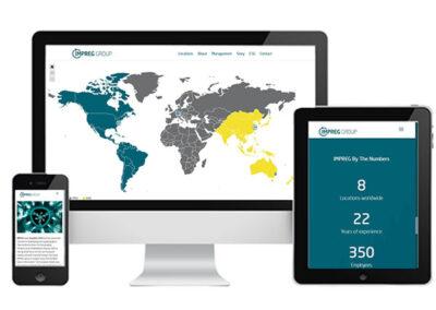 Webdesign IMPREG Group - Schlauchliner Sanierung Entwicklung und Herstellung